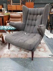 Sale 8930 - Lot 1060 - Early Spanish Reproduction Papa Bear Chair