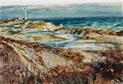 Sale 8938 - Lot 508 - Charles Bush (1918 - 1989) - After the Fire - Aireys Inlet 36 x 53 cm