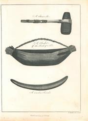 Sale 9037A - Lot 5025 - Thomas Prattent (c1764 - 1841) - Aboriginal Tools,1789 copper engraving