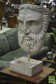 Sale 8284 - Lot 1055 - Composite Figure of A Male Face