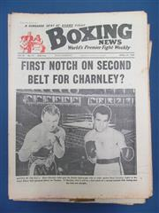 Sale 8450S - Lot 760 - Boxing News - a box of Boxing News, mid 1960s