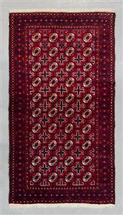Sale 8493C - Lot 67 - Persian Turkman 194cm x 105cm