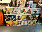Sale 8648B - Lot 2064 - Vesper Advert on Canvas, 95x185cm -