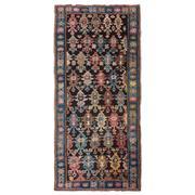 Sale 8971C - Lot 59 - Antique Caucasian Karabagh Rug, Unique Colours, Circa 1940, 110x235cm, Handspun Wool