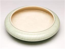 Sale 9107 - Lot 41 - A ceramic crackle glaze bowl (D 21cm)