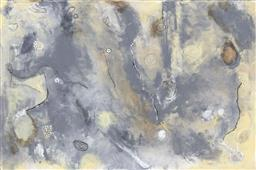 Sale 9174JM - Lot 5089 - BELLA KAYE Sandstorm acrylic on canvas 51 x 77 cm signed and titled verso