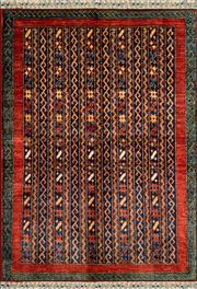 Sale 8335C - Lot 50 - Afghan Chobi 145cm x 100cm