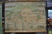 Sale 8364 - Lot 1090 - Vintage School Map of World Exploration
