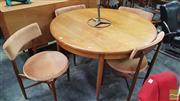 Sale 8409 - Lot 1067 - G-Plan Table and Set of Four Chairs