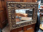 Sale 8676 - Lot 1050 - Ornate Gilt Framed Mirror