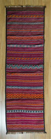 Sale 8693C - Lot 54 - Persian Kilim 250cm x 74cm