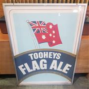 Sale 9002 - Lot 1075 - Framed Flag Ale Pub Poster (h:103 x w:77cm)