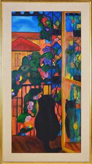 Sale 8339A - Lot 599 - Kate MacArthur (XX - ) - London, 1981 100 x 49cm