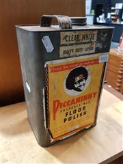 Sale 8684 - Lot 1033 - Tin Piccaninny Prepared Wax Floor Polish