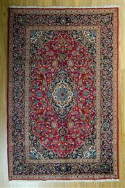 Sale 8717C - Lot 21 - Persian saruli 330cm x 205cm