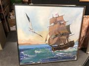 Sale 8853 - Lot 2079 - Artist Unknown - Rough Seas