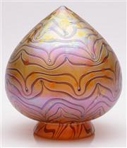 Sale 9052 - Lot 33 - An Art Glass Tulip Shade H: 19cm
