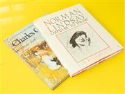 Sale 9066H - Lot 31 - Two art books, Lin Bloomfield Norman Lindsay Impulse To Draw 1984, together with Ursla Hoff Charles Conder 1972.