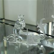 Sale 8336 - Lot 55 - Swarovski Crystal 1996 Fabulous Creatures 'Unicorn'