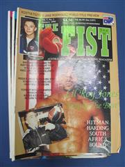 Sale 8419A - Lot 93 - The Fist - a box of the Australian boxing magazine, 1990s