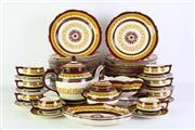 Sale 8887 - Lot 56 - A Large Suite of Henriot Quimper Dinnerwares