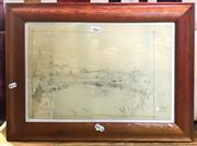 Sale 8941 - Lot 2066 - Howard Barron Pencil (1954)