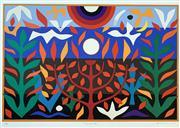 Sale 8996A - Lot 5016 - John Coburn (1925 - 2006) - Tree of Life, 1988 55.5 x 75 cm