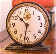 Sale 8342A - Lot 315 - A Westclox Big Ben alarm clock, H 13cm, designed by Henry Dreyfuss