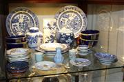Sale 8306 - Lot 95 - Royal Copenhagen Dish with Other ceramics Incl Blue and White Ginger Jar