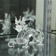 Sale 8336 - Lot 56 - Swarovski Crystal 1997 Fabulous Creatures 'Dragon'