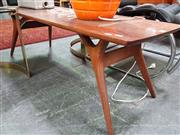 Sale 8476 - Lot 1018 - Vintage Timber Coffee Table
