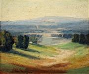 Sale 8642A - Lot 5081 - John Banks (1883 - 1945) - Nepean Flats 1935 29 x 34cm