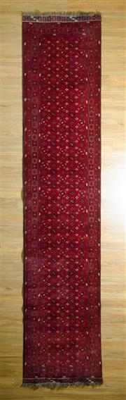 Sale 8693C - Lot 56 - Afghan Qunduzi 400cm x 84cm