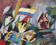 Sale 8704 - Lot 567 - Geoffrey Proud (1946 - ) - Sulphide Street, 2000 61 x 74.5cm