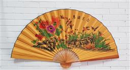 Sale 9129 - Lot 1013 - Large oriental fan