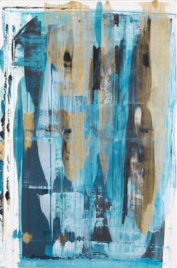 Sale 9174JM - Lot 5073 - BELLA KAYE Morning Dew acrylic on canvas 91 x 61 cm signed and titled verso