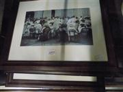Sale 8437 - Lot 2095 - Set of 3 Framed Photographic Prints incl A Darwin Gathering