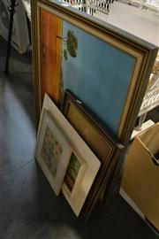 Sale 8453 - Lot 2050 - Framed Artworks incl Landscapes, Still Life etc