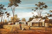 Sale 8633 - Lot 590 - Stuart McKenzie Cullen (1933 - ) - The Rabbiter, 1973 33 x 50cm