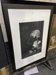 Sale 9053 - Lot 2064 - Keith Saunders - Steve Isserlis, 2014 frame size: 91 x 66 cm