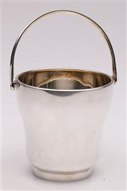 Sale 9052 - Lot 376 - Edwardian EPNS ice bucket, of curved form