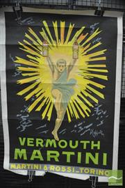 Sale 8364 - Lot 1032 - Vintage Vermouth Martini Poster