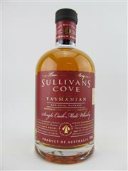 Sale 8439 - Lot 723 - 1x Sullivans Cove Single Cask, Small Batch Single Malt Tasmanian Whisky - barrel no. HH0237, bottle no. 58/471, barrel date 28/03/...
