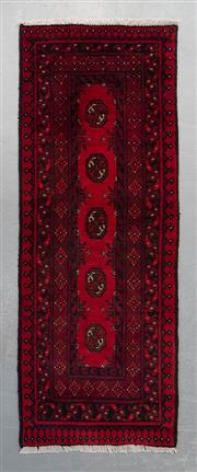 Sale 8493C - Lot 71 - Afghan Turkman 145cm x 54cm