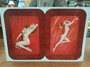 Sale 8676 - Lot 1363 - Metal Poster Of Marilyn Monroe