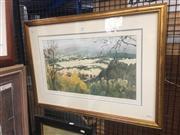 Sale 8751 - Lot 2083 - Lucy McCann - Untitled (Hunter Valley Landscape) 30.5 x 53cm