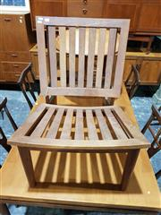 Sale 8765 - Lot 1073 - Timber Deck Chair