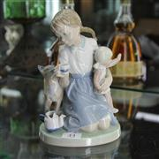 Sale 8379 - Lot 44 - Lladro Figure of a Young Girl