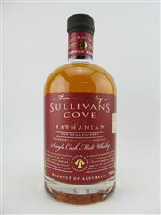 Sale 8439 - Lot 724 - 1x Sullivans Cove Single Cask, Small Batch Single Malt Tasmanian Whisky - barrel no. HH0237, bottle no. 59/471, barrel date 28/03/...