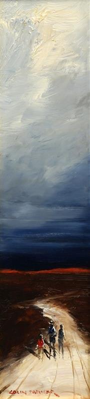 Sale 8693A - Lot 5031 - Colin Parker (1941 - ) - Endless Tracks 39.5 x 9cm